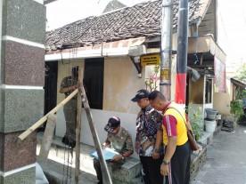 Kecamatan Gedongtengen Dampingi PPNS Sidak Pelanggar IMBB