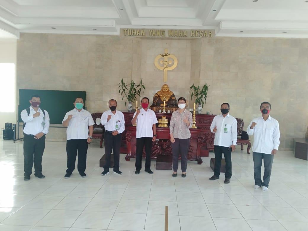 Vihara Boddhicitta Maitreya Kemetiran Siap Laksanakan Kegiatan Ibadah