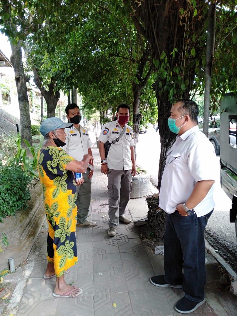 BKO POL PP Gedongtengen Lakukan Pembinaan Pengemis Jalanan