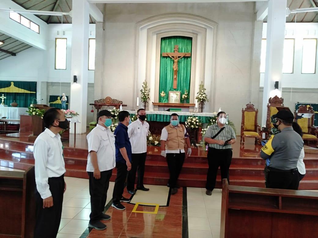 Romo Santo : Gereja Hati Santa Perawan Maria Tak Bercela Kemetiran Siap Laksanakan Peribadatan