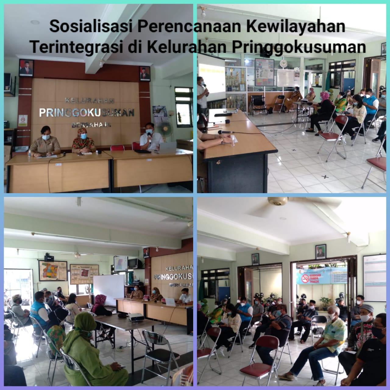 Sosialisasi Perencanaan Kewilayahan Terintegrasi di Kelurahan Pringgokusuman